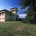 The castle of Cafaggiolo